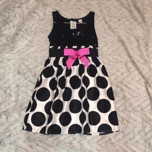 Little girls sz 7/8 beautiful party dress